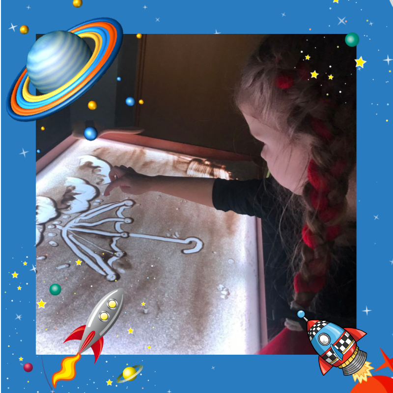 Занятия по песочной анимации для детей от 3х лет