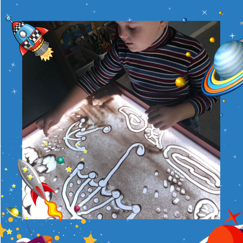 Песочная анимация для детей